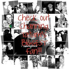 Channing Tatum Unwrapped's 2010 BIGGEST Fan Contest