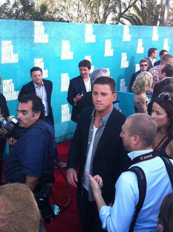 Channing Tatum at 2012 MTV Movie Awards