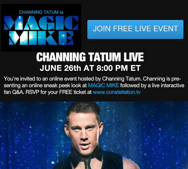 Channing tatum sweatpants magic mike
