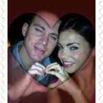 Channing Tatum and Jenna Dewan-Tatum - Valentines Day 2012