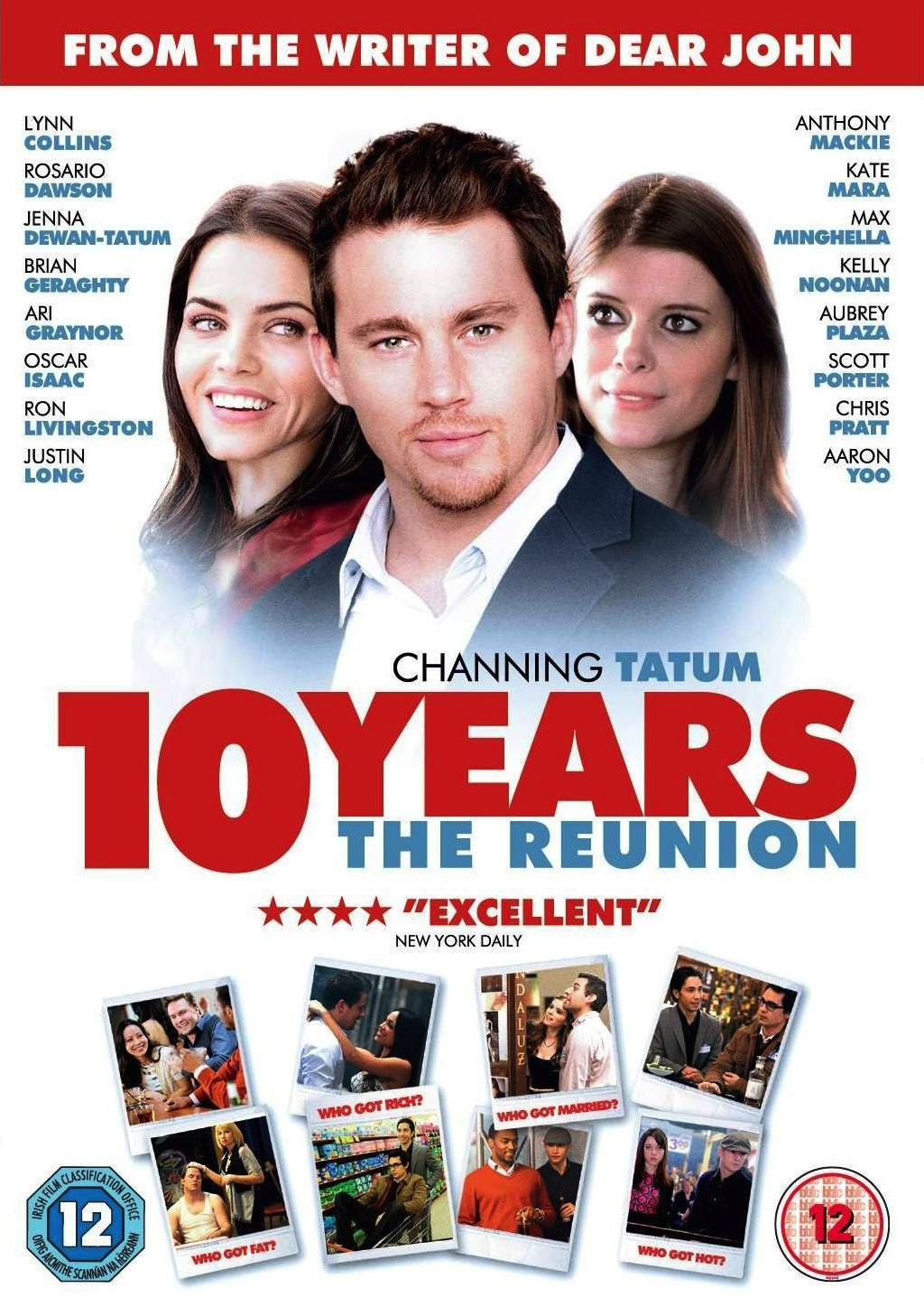channing tatum's '10 years' releases on dvd in the uk - channing