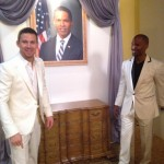 Channing Tatum and Jamie Foxx - White House Down - Cancun Photo Call - Summer of Sony