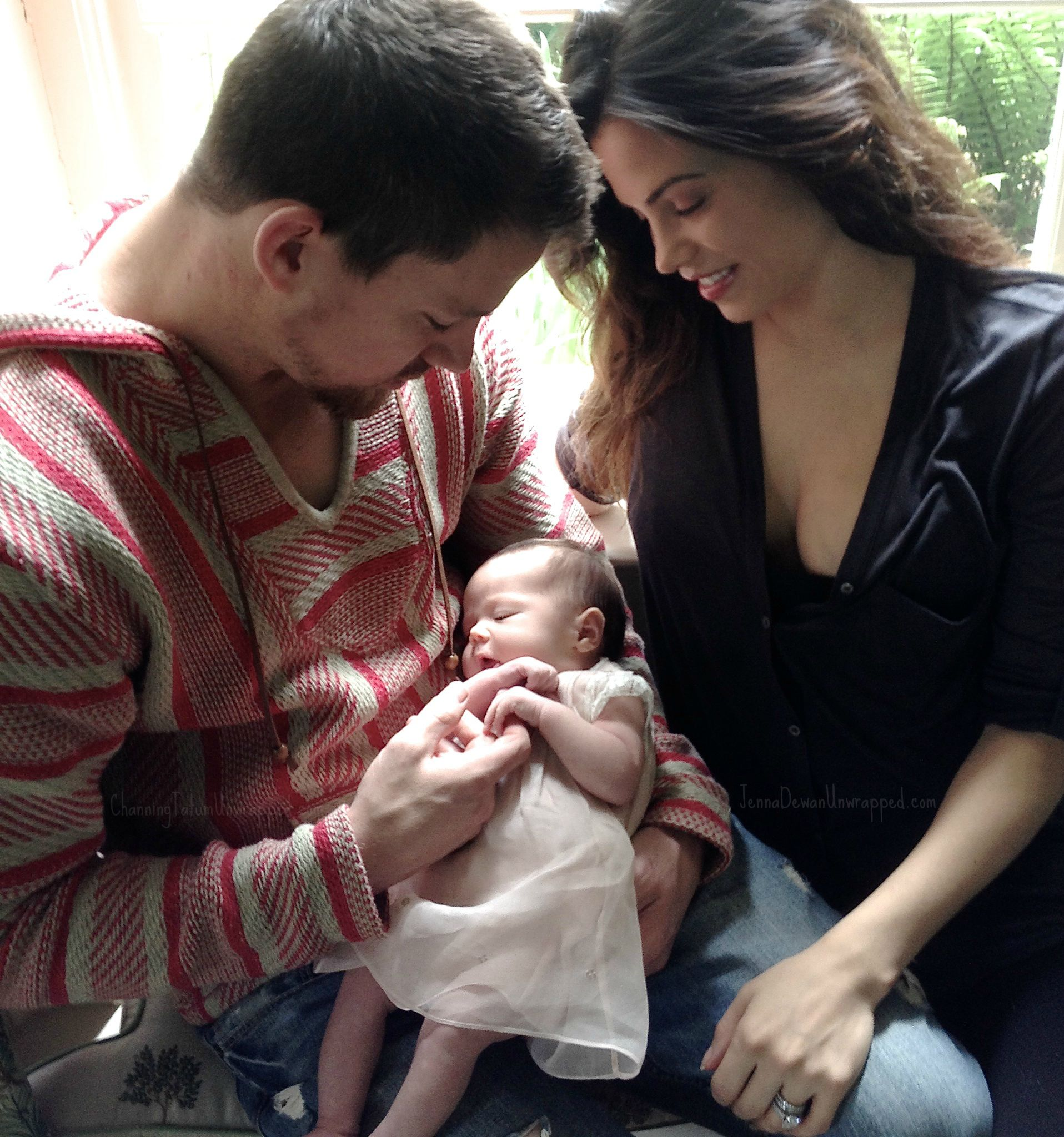 Tatum pictures channing baby