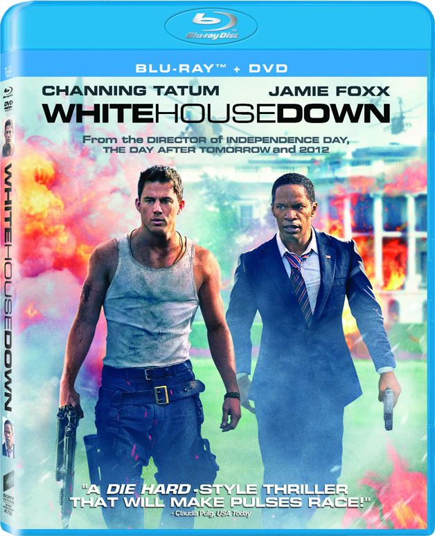 Channing Tatum White House Down Blu-ray/DVD