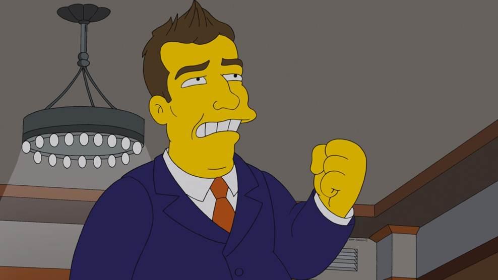 Channing Tatum The Simpsons
