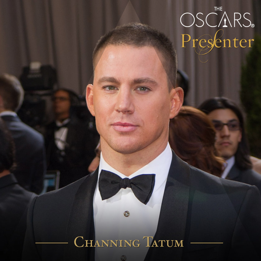 Channing Tatum 2013 and 2014 Oscars Presenter