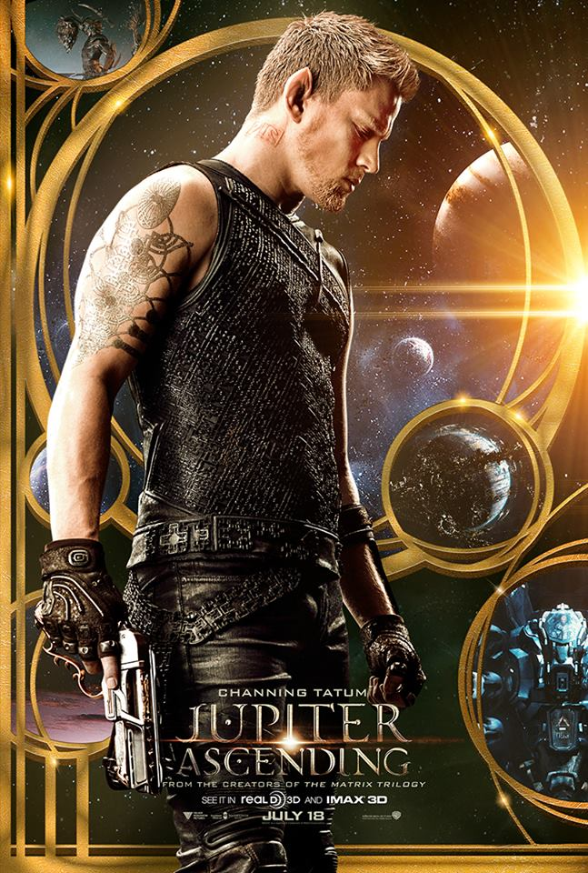Channing Tatum Jupiter Ascending Poster