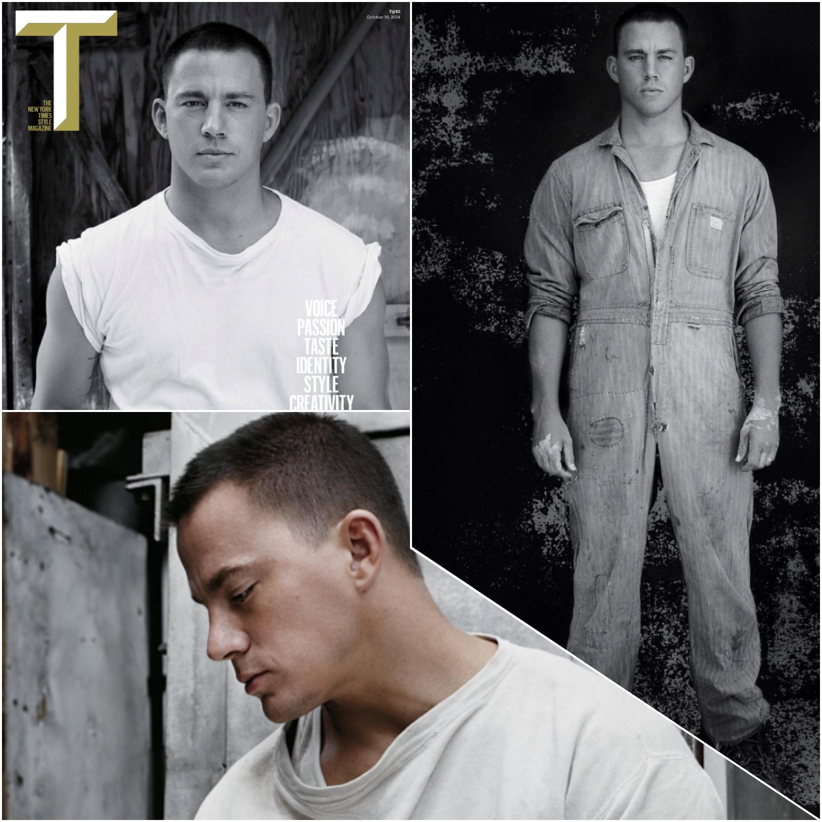 Channing Tatum T Magazine 2014
