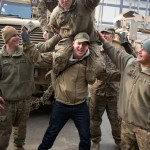 Channing Tatum USO Afghanistan