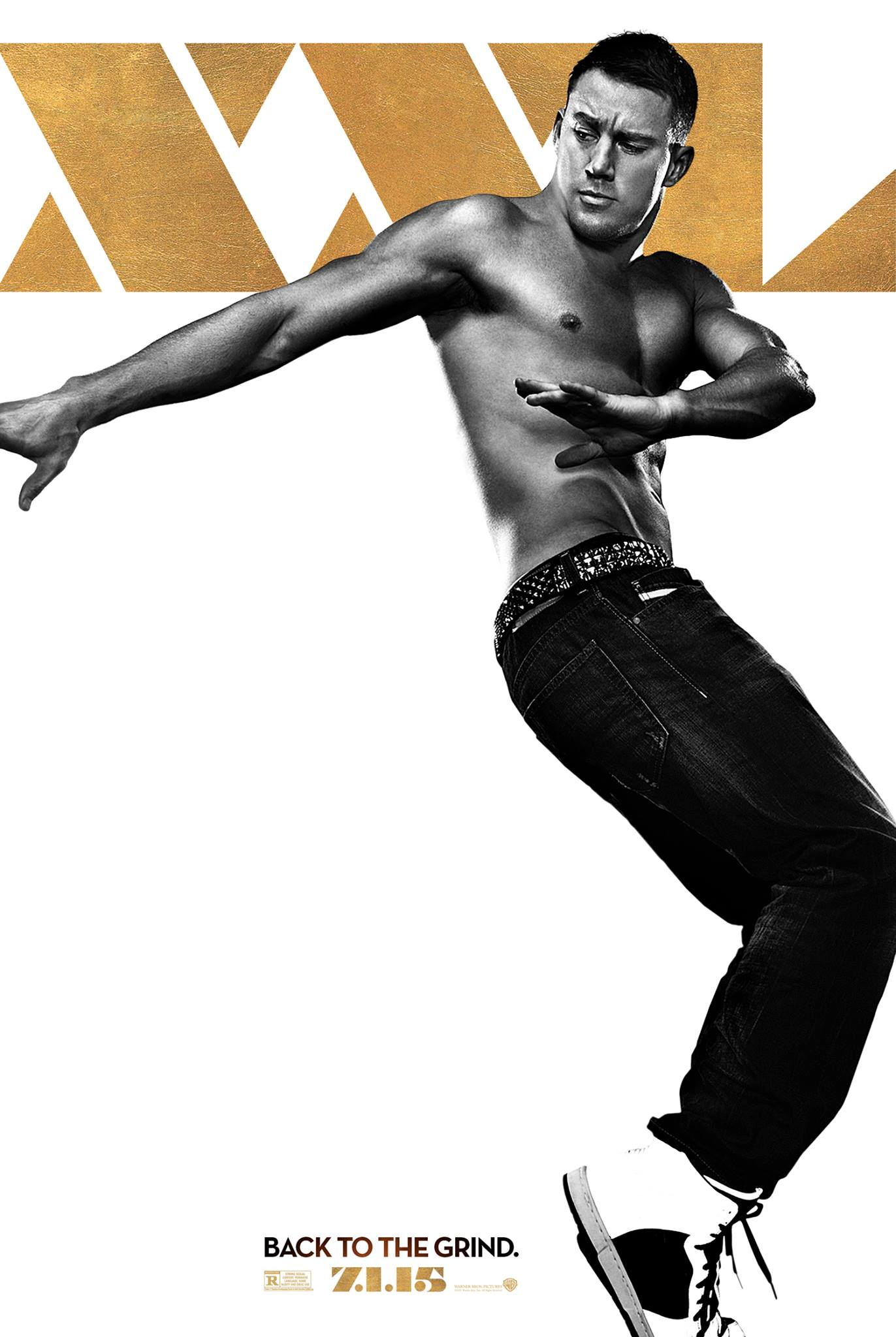 Channing Tatum Magic Mike XXL Poster